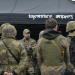 namiot organizatora imprez integracyjnych